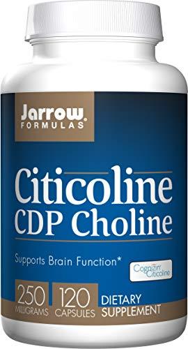 Jarrow Formulas Citicoline, Supports Brain Function, 250 mg, 120 Caps (Jarrow Formulas Adrenal Optimizer)