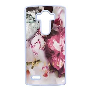 LG G4 Cell Phone Case White Ted Baker logo AC8641189