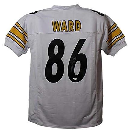 10f1f439393 Hines Ward Signed Jersey - White Size XL 21957 - JSA Certified - Autographed  NFL Jerseys