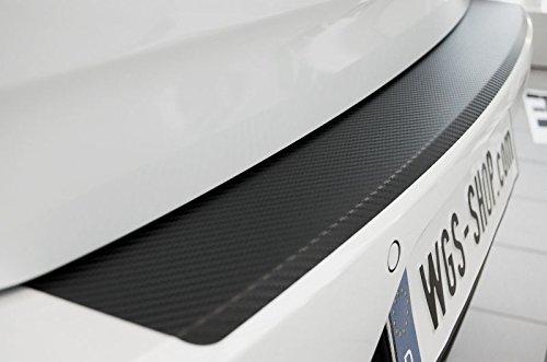 2151-804 WGS SparSet Einstiegsleisten Ladekantenschutz Carbon Schutzfolie Schwarz