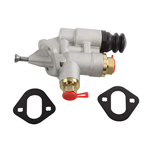 (Diesel Fuel Lift Pump for Dodge Ram Pickup 6CT Big Hole, Transfer Injection Pump 3936316 for Pickup Cummins 5.9L 6BT, 1994-1998 Dodge RAM 2500 3500 Pickup Cummins 5.9L Replacement Electric)