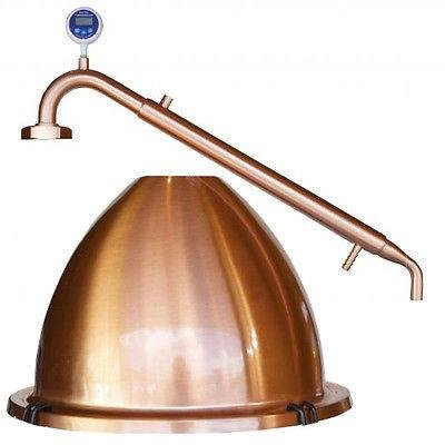 Still Spirits Complete Alembic Dome And Condenser Assembly