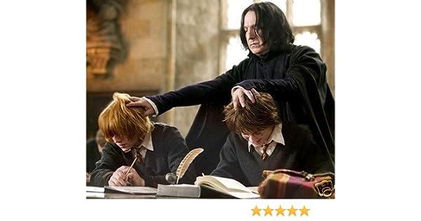 Alan Rickman 8x10 Photo Harry Potter Professor Severus Snape Daniel
