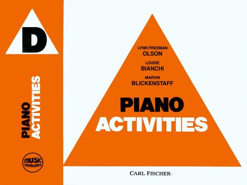 Olson Music Pathways - O5114 - Piano Activities - D