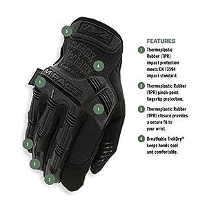 Mechanix Wear - M-Pact Covert Tactical Gloves (X-Large, Black)
