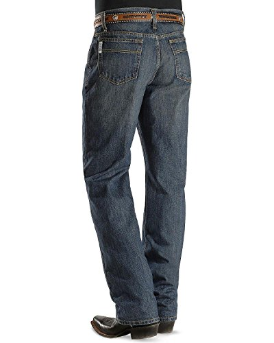 Cinch Men's Jeans White Label Relaxed Fit Dark Stone 44W x 34L ()