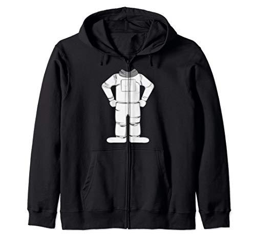 Astronaut Costume Halloween Art Funny Space Explorer Gift Zip Hoodie]()