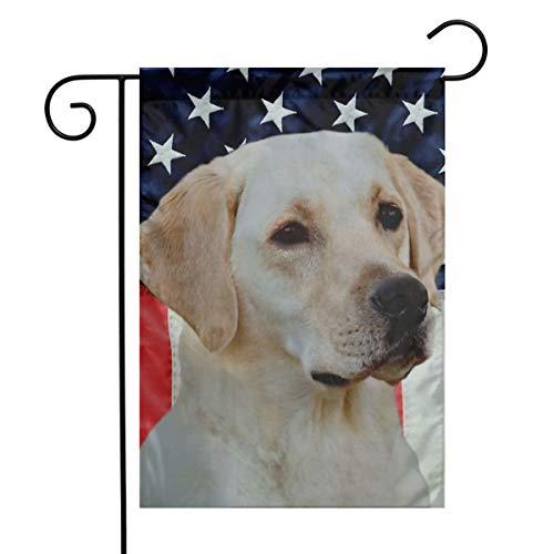 Yellow Labrador Costumes - Labrador Flag Lab Yellow Dog USA