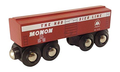 Monon Boxcar magnetic wooden train