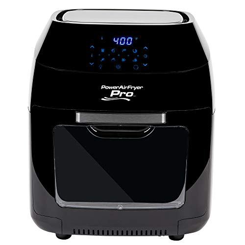 PowerXL 8 QT Family Sized Power AirFryer Pro With 7 in 1 Cooking Features with Professional Dehydrator and Rotisserie