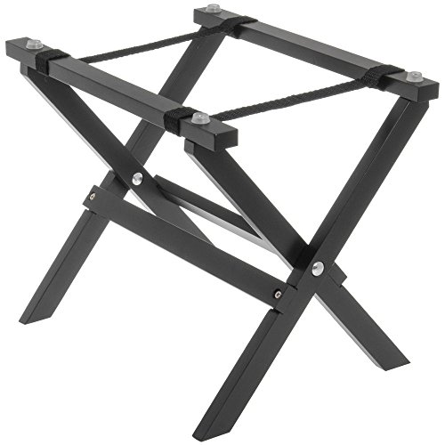Wood Riser Mini (Tablecraft Black Wood Mini Tray Stand - 9 1/2