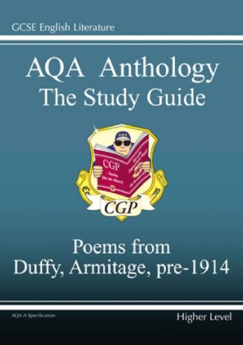 AQA Anthology Study Guide Poems from Duffy, Armitage, Pre 1914