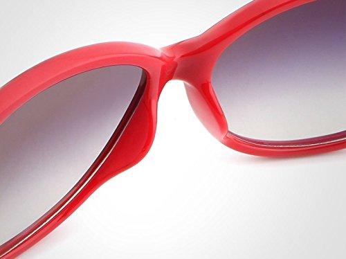 Metal de de Lunettes Red oculos Soleil Frame Lunettes Sol Soleil UV400 Retro JCH Polycarbonate Pink Femmes Black en Feminino de fzP7PxwqZ