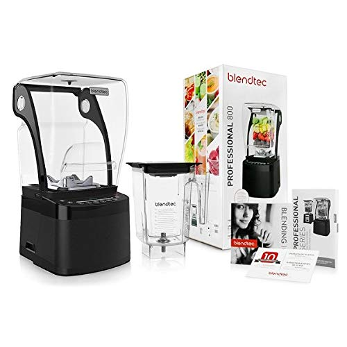 (Blendtec Professional 800 Blender with BPA-Free WildSide Jar + Blending 101 Quick-Start Guide and Recipes + Owner's Manual and User)