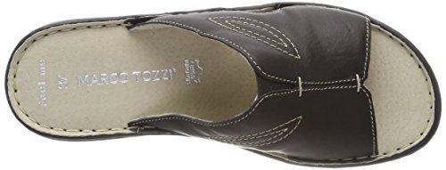 MARCO TOZZI premio Women's 27901 Mules, White Black (Black 001)