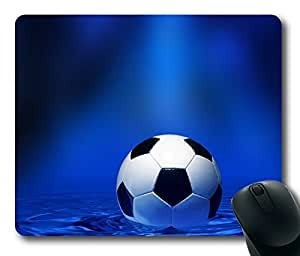Rectangle mouse pad , Ball Soccer