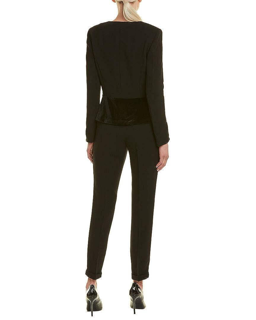 Black Tahari by Arthur S Levine Womens Tahari ASL 2Pc Pant Suit 10