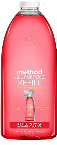 Method All Purpose Cleaning Spray 68 Fl Oz, Pink Grapefruit, Refill (Method All Purpose Cleaner Pink Grapefruit)