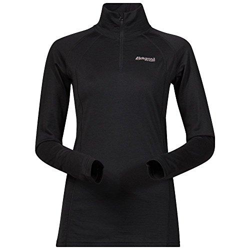 Bergans - Camiseta térmica - para mujer negro
