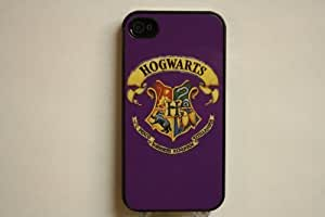 (558bi5) Purple Hogwarts Crest Apple iPhone 5 Purple Case - Harry Potter