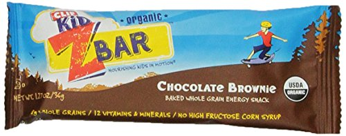 CLIF KID ZBAR - Bio Energy Bar - Brownie au chocolat - (1,27 oz, 18 Count)