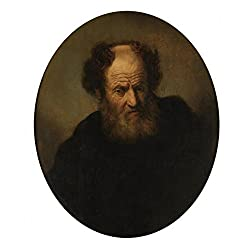 Oil Painting 'Rembrandt,Old Man,1609-1669', 10 x 12 inch / 25 x 30 cm , on High Definition HD canvas prints is for Gifts And Gym, Kids Room And Living Room Decoration, for print