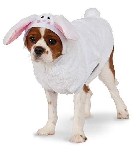 Rubie's Bunny Hoodie Pet Costume, -