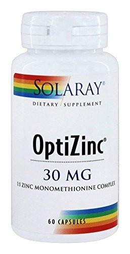 (Solaray, Optizinc 30Mg, 60 Capsules )