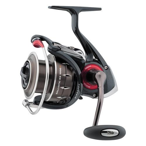 Used, Daiwa Ballistic EX 3000 Spinning Reel, Red for sale  Delivered anywhere in USA