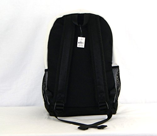 Victoria's Secret PINK Campus Backpack White Black Perforated Leather Bookbag by Victoria's Secret (Image #2)