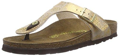 6bc6e02ad1f517 Birkenstock Women s Narrow-Fit  Gizeh  Birko-FlorTM Thong (Stardust Gold)  (40 N - 9 US Women - Narrow ) - Buy Online in UAE.