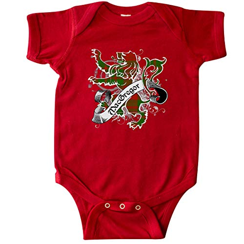 inktastic - MacGregor Tartan Lion Infant Creeper 6 Months Red 233a6