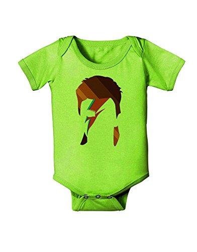 [TooLoud Star Man Baby Romper Bodysuit - Lime Green - 18 Mos] (Green Man Body Suit)