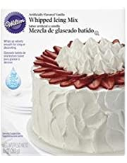 Wilton Bulk Buy Whipped Vanilla Icing Mix 10 Ounces W1241 (3-Pack)