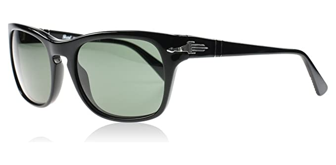 68d05cf07a Persol Sunglasses 3072 S 95 31 54x20 Black   Grey Green Film Noir Edition