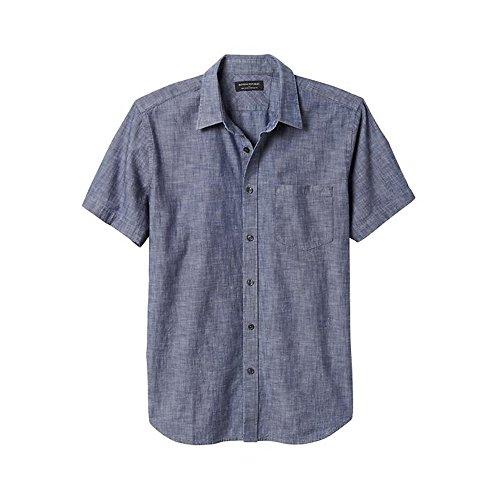 medium-banana-republi-standard-fit-short-sleeve-soft-wash-chambray-shirt