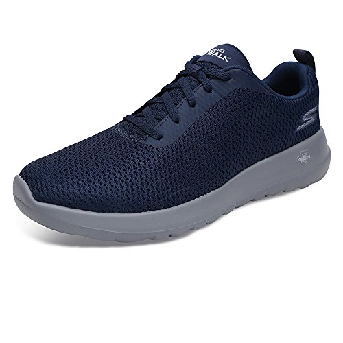 Skechers Performance Men's Go Walk Max-54601 Sneaker,navy/gray,10 M US