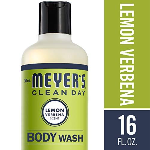 Mrs. Meyer's Clean Day Body Wash, Lemon Verbena, 16 fl oz