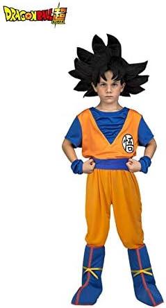 Dragon Ball Disfraz de Son Goku Peluca para niño: Amazon.es ...
