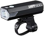 CatEye Unisex's Ampp 500 Front Bicycle Light, Black, One