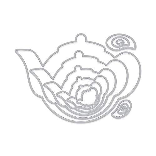 Hero Arts DI564 Infinity Dies, Tea Pots and Handles