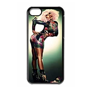 MMZ DIY PHONE CASEGators Florida USA-4 Nicki Minaj Print Black Case With Hard Shell Cover for Apple iphone 6 plus 5.5 inch