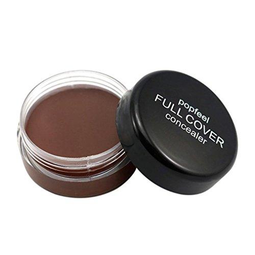 4 · Oksale Face Makeup Concealer Foundation Palette Creamy Moisturizing Concealer Cream (E)