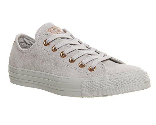 Converse Ledersneaker CT AS OX 157569C Grau Mouse Vapour Pink Exclusive