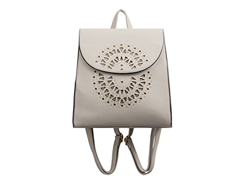 LeahWard Faux Backpack Women's LeahWard Leather 2190 Grey Handbags Women's wqFB1qxR