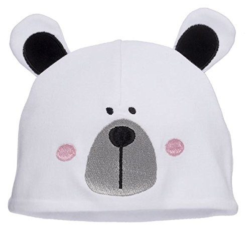 Image Unavailable. Image not available for. Color  Ganz Polar Bear Baby Hat 995e2953747