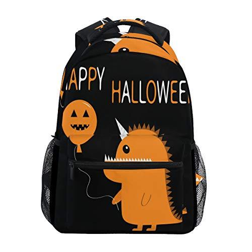 School Backpack Happy Halloween Monster Cute Bookbag Daypack for $<!--$28.99-->