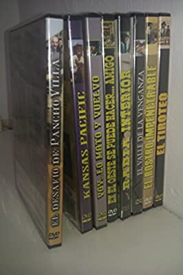 PACK Cine del Oeste (8 DVD): Amazon.es: Jack Nicholson, Marlon ...