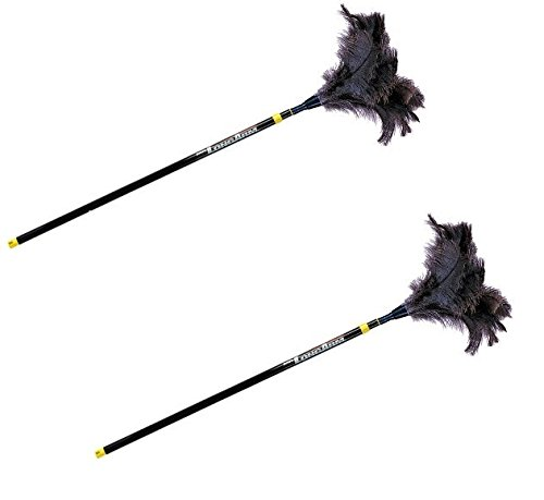 Mr. Long Arm 741 Ostrich Feather Duster with Extension Pole, 3-to-6 Foot - 2 Pack by Mr. Long Arm