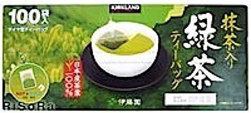 KIRKLAND SIGNATURE カークランドシグネチャー 伊藤園緑茶 ティーパック ナイロンフィルター 100 袋 ティーバッグ